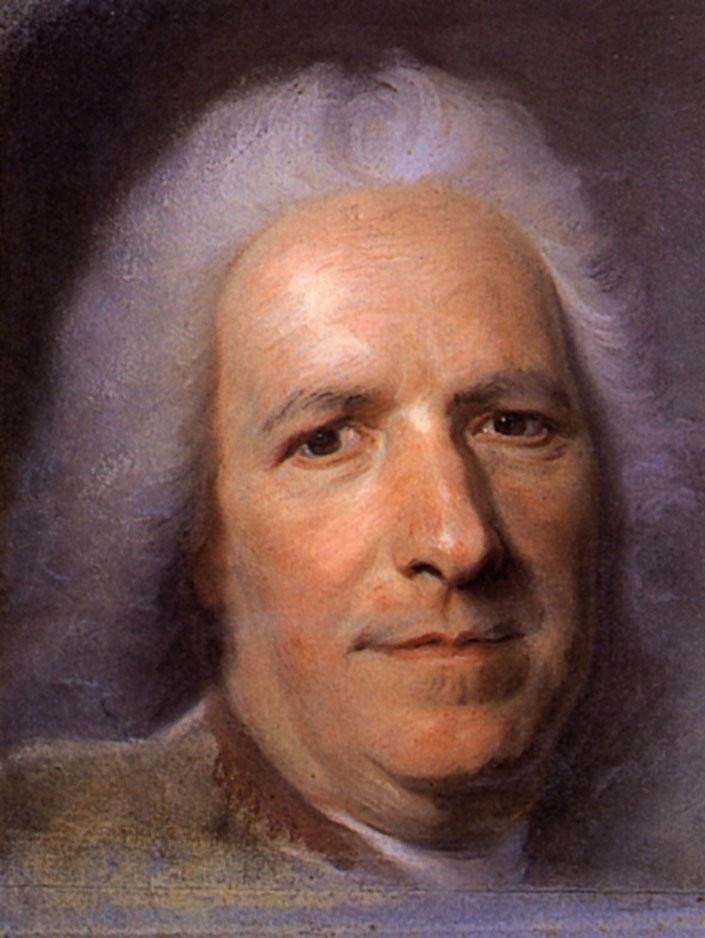 Preparation of the portrait of Jean Paris de Montmartel - Maurice Quentin de La Tour