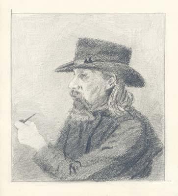 Priest from Gryzovo - Nicholas Roerich