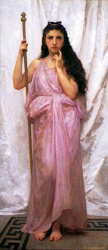 Priestess - William-Adolphe Bouguereau