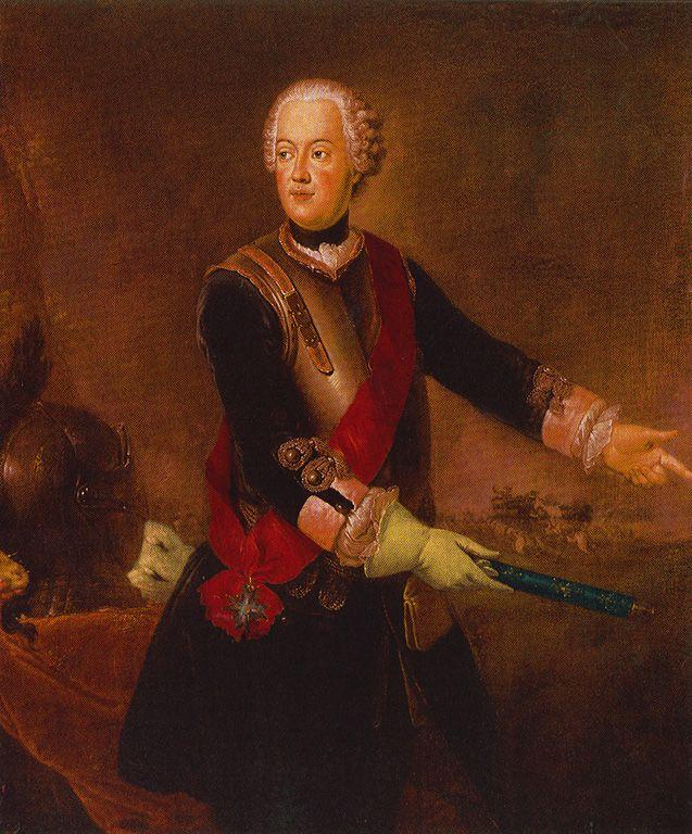 Prince Augustus William of Prussia - Antoine Pesne