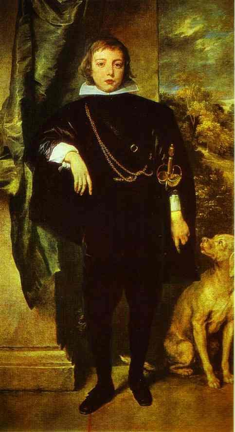 Prince Rupert von der Pfalz - Anthony van Dyck