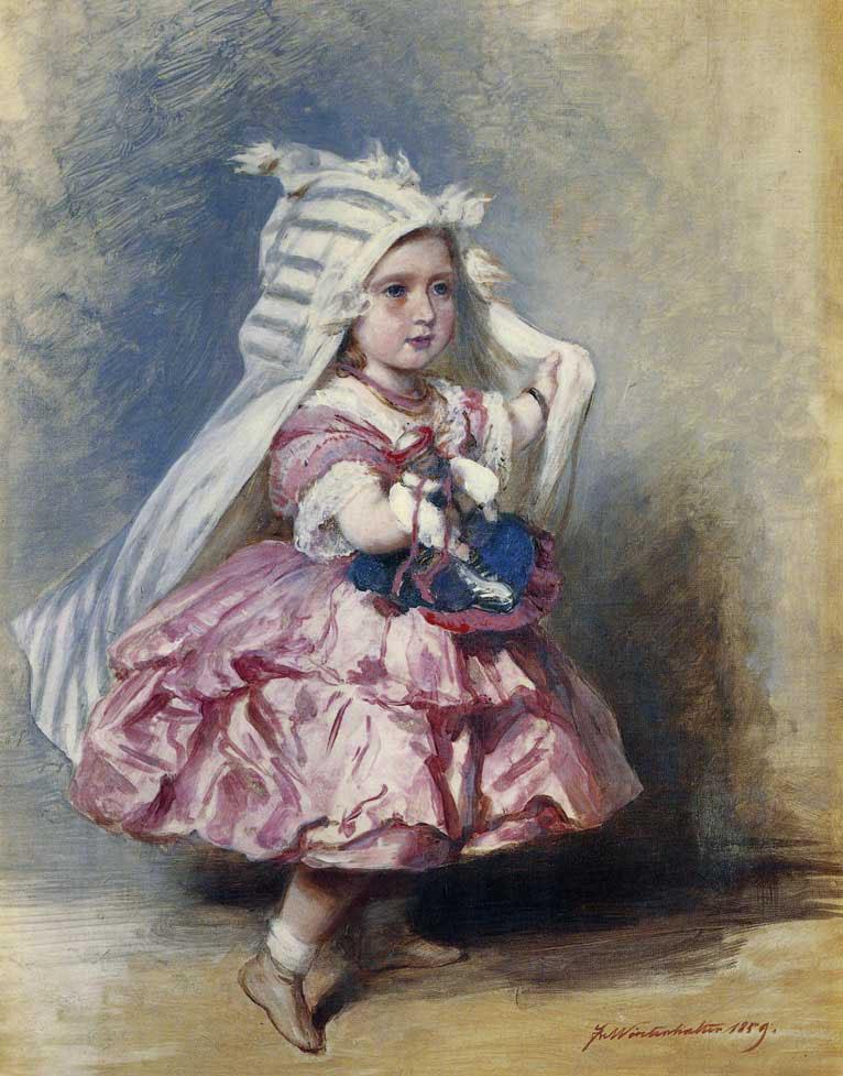 Princess Beatrice - Franz Xaver Winterhalter