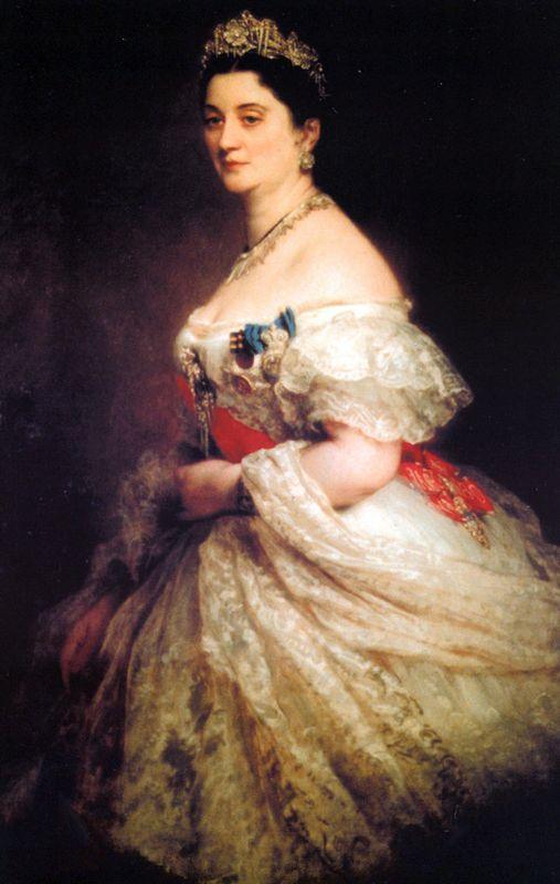 Princess Catherine Dadiani - Franz Xaver Winterhalter