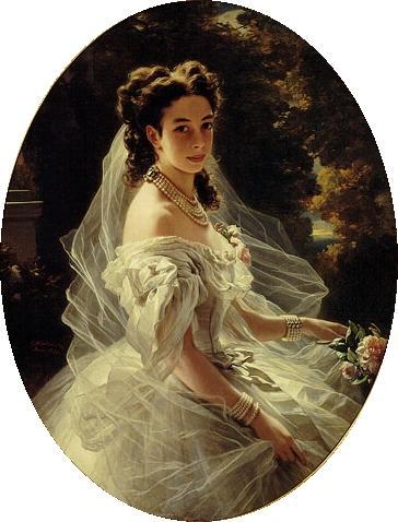 Princess Pauline de Metternich - Franz Xaver Winterhalter
