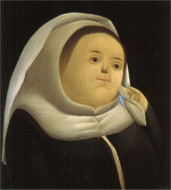 Prioress - Fernando Botero