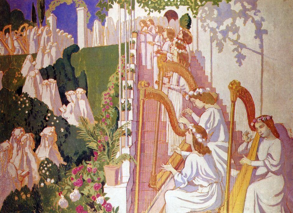 Procession de Fete Dieu - Maurice Denis