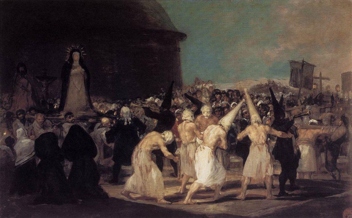 Procession of Flagellants - Francisco Goya