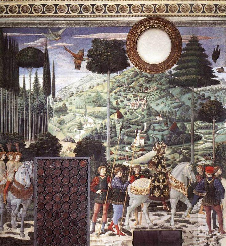 Procession of the Magus Melchior (detail) - Benozzo Gozzoli