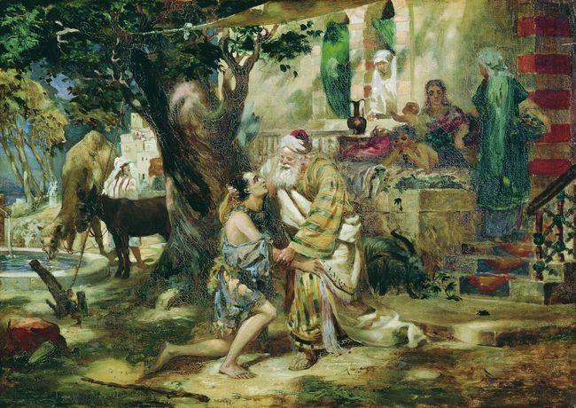 Prodigal Son - Henryk Siemiradzki