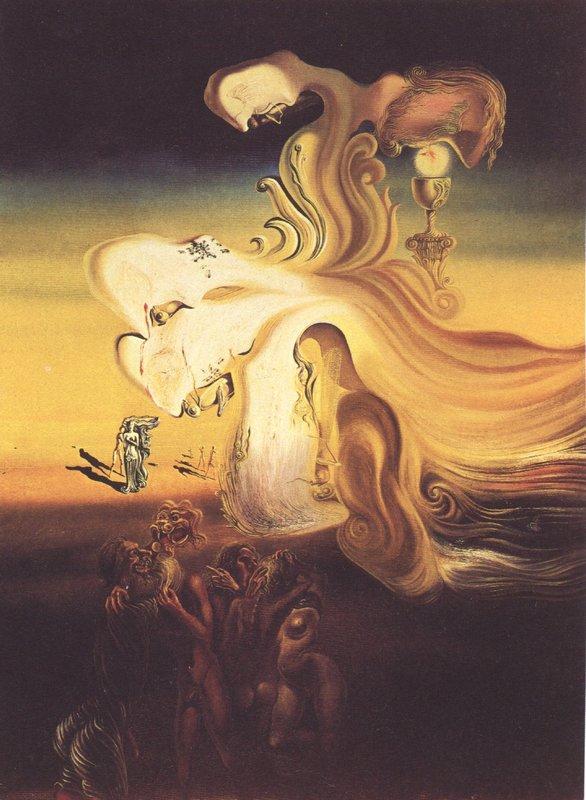 Profanation of the Host - Salvador Dali