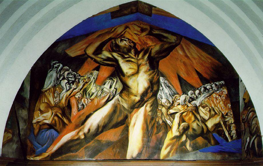 Prometheus - Jose Clemente Orozco