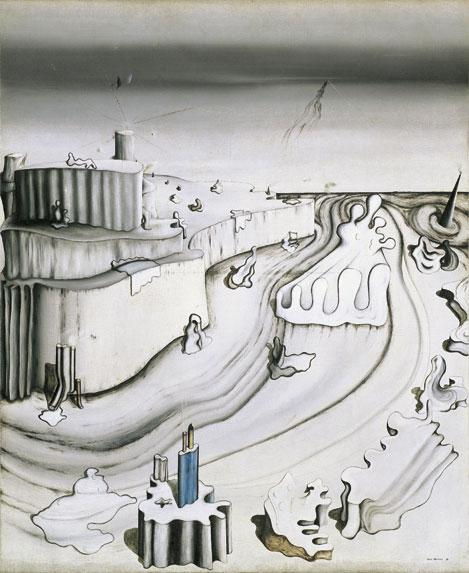 Promontory Palace  - Yves Tanguy