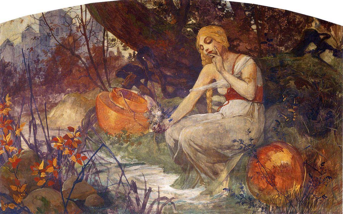 Prophetess - Alphonse Mucha