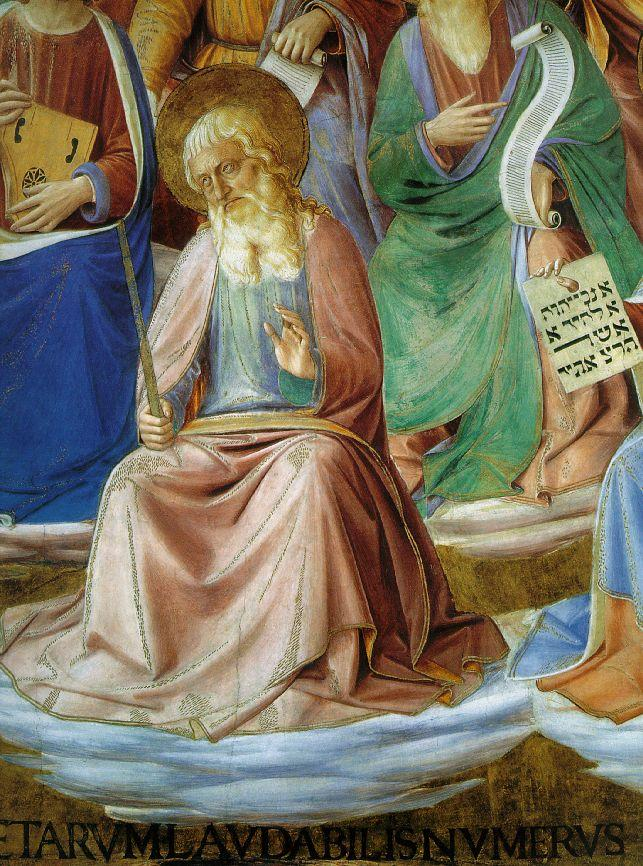 Prophets (detail) - Fra Angelico