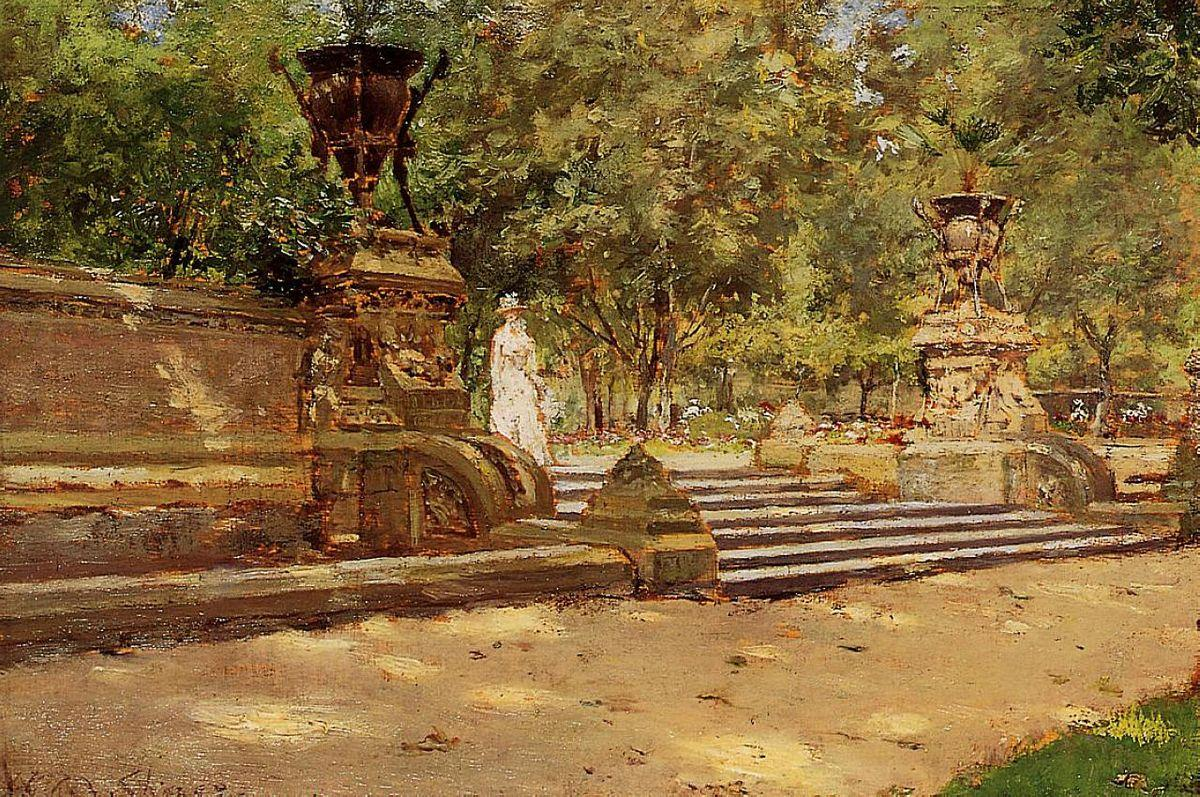 Prospect Park, Brooklyn 02 - William Merritt Chase