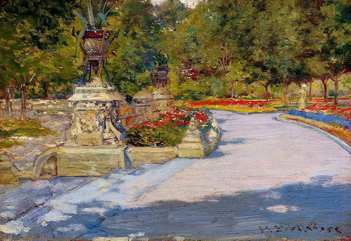 Prospect Park - William Merritt Chase