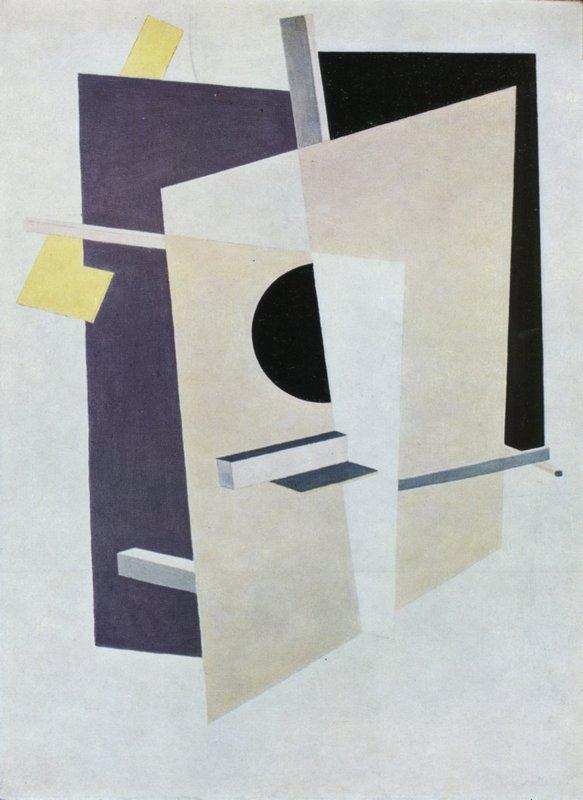 Proun Interpenetrating Planes - El Lissitzky