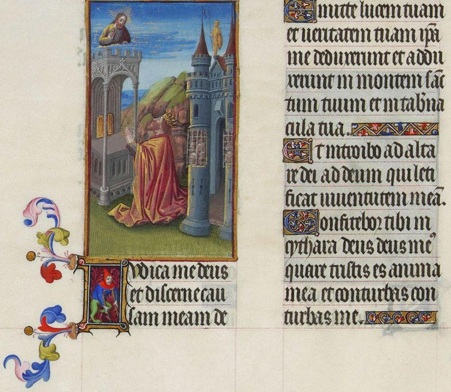 Psalm XLII - Limbourg brothers