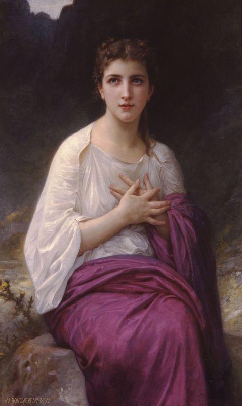 Psyche - William-Adolphe Bouguereau