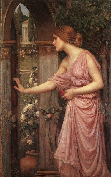 Psyche entering Cupid's Garden - John William Waterhouse
