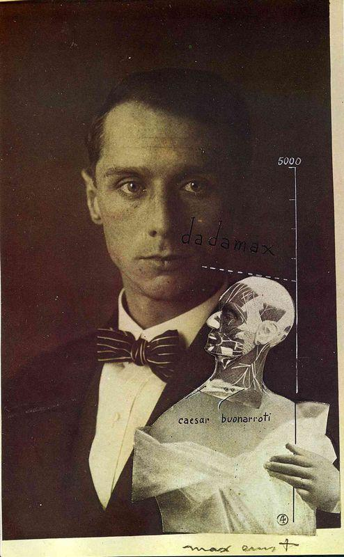 Punching Ball or the Immortality of Buonarroti - Max Ernst
