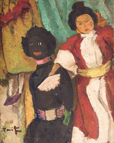 Puppets - Nicolae Tonitza