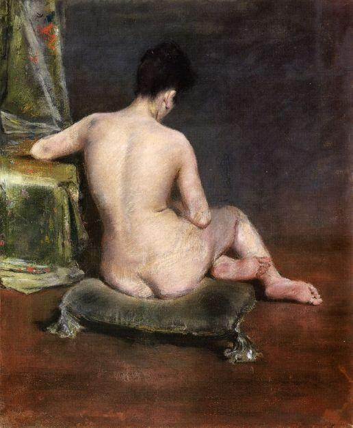 Pure (The Model) - William Merritt Chase