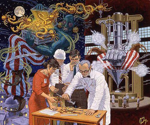 Putting The Genie Back in the Bottle - Robert Williams