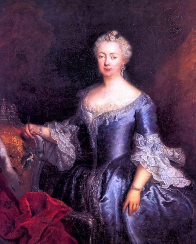 Queen Elisabeth Christine - Antoine Pesne