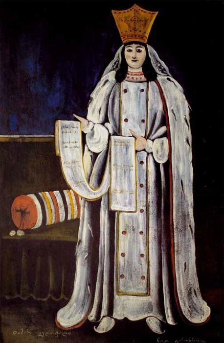 Queen Tamar  - Niko Pirosmani