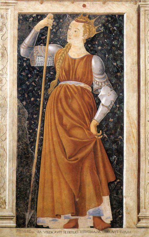 Queen Tomyris - Andrea del Castagno