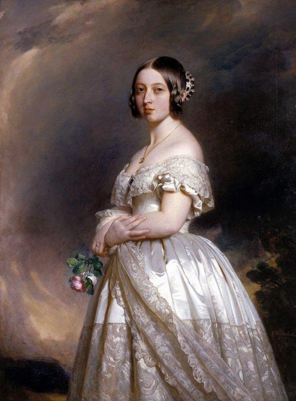 Queen Victoria  - Franz Xaver Winterhalter