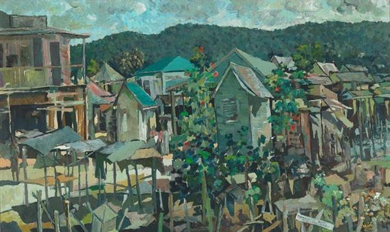 Quiet Sunday Ocho Rios, Jamaica - Albert Huie