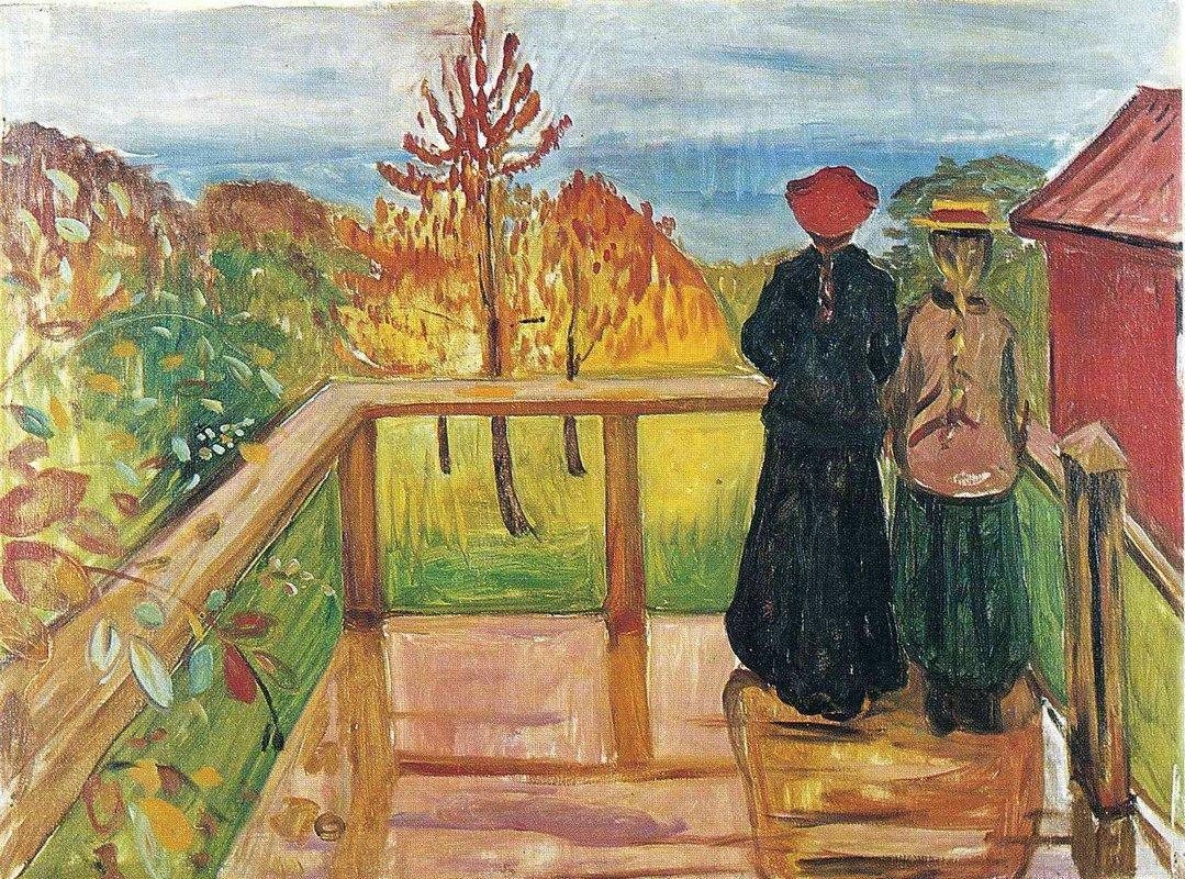 Rain - Edvard Munch