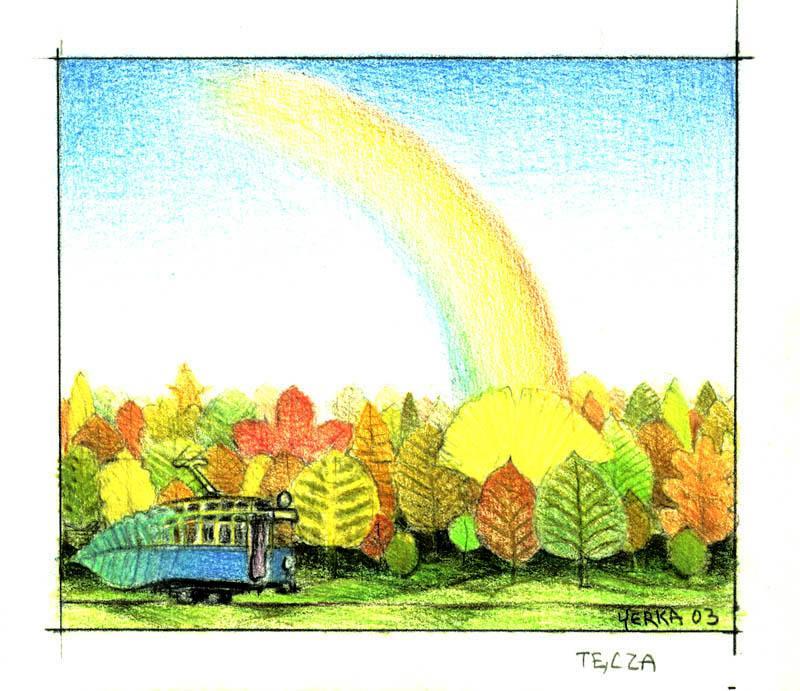 Rainbow - Jacek Yerka