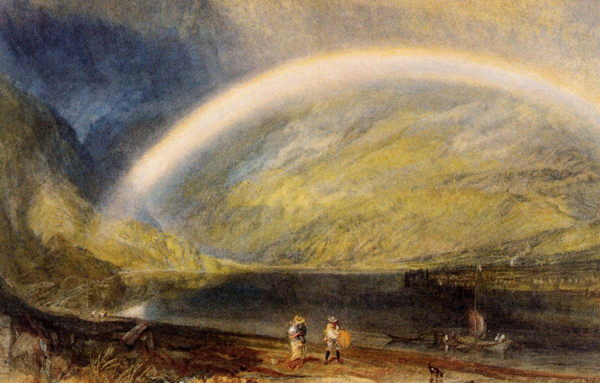 Rainbow - Isaac Levitan