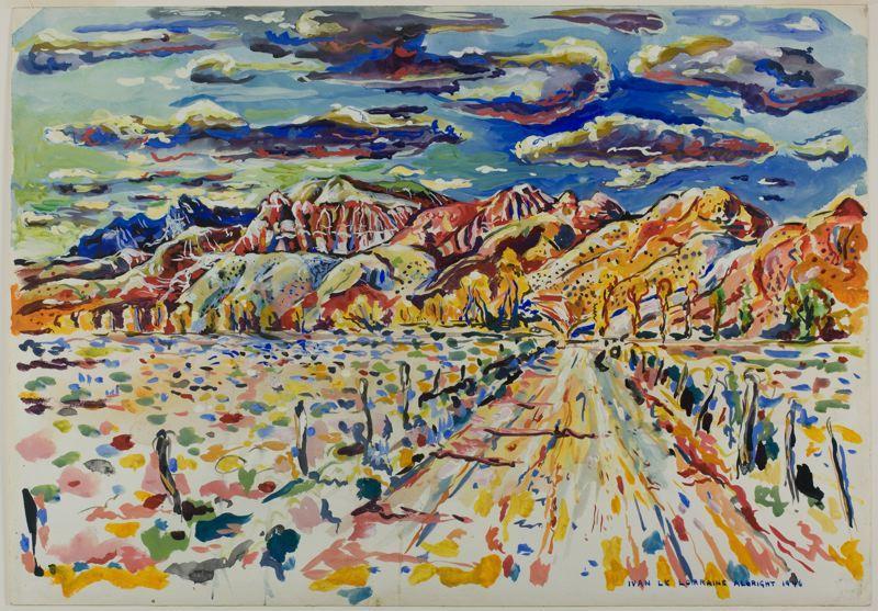 Ranch Wyoming - Ivan Albright