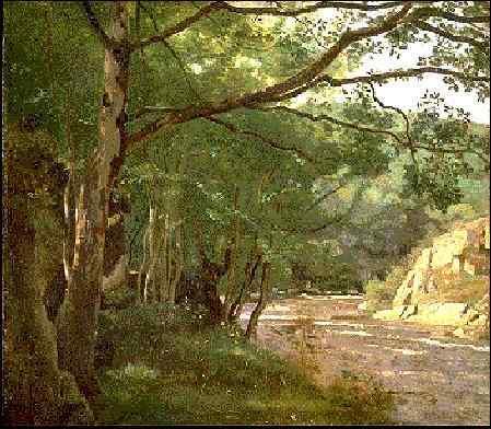 Ravine in the Morvan, Near Lormes - Camille Corot
