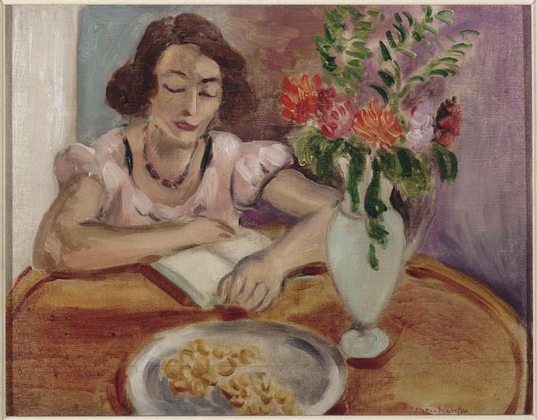 Reading girl - Henri Matisse
