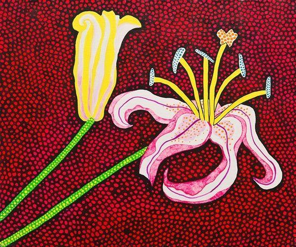 Ready to Blossom in the Morning - Yayoi Kusama