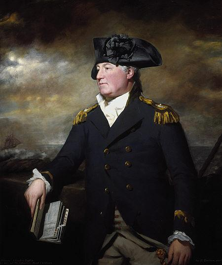 Rear-Admiral Charles Inglis - Henry Raeburn