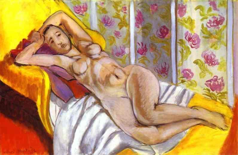Reclining Nude - Henri Matisse