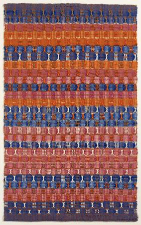 Red and Blue Layers - Anni Albers