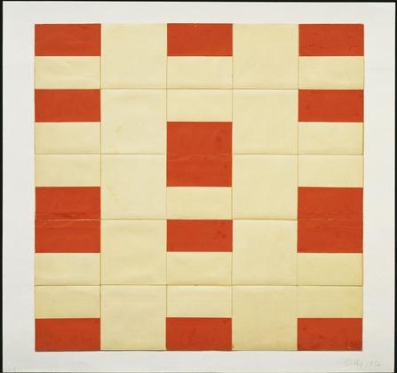 Red and White  - Ellsworth Kelly