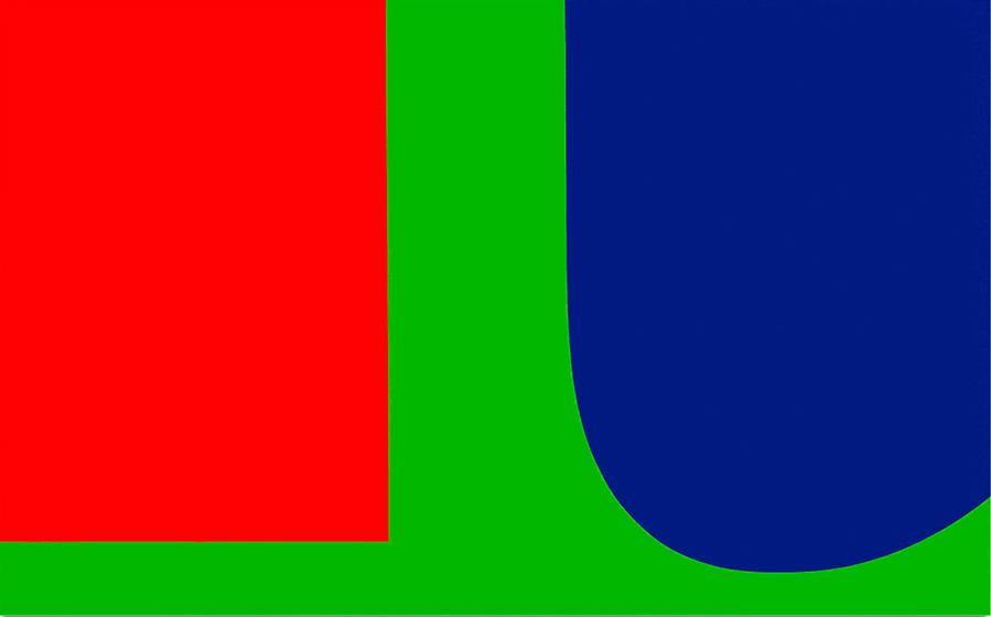 Red Blue Green - Ellsworth Kelly