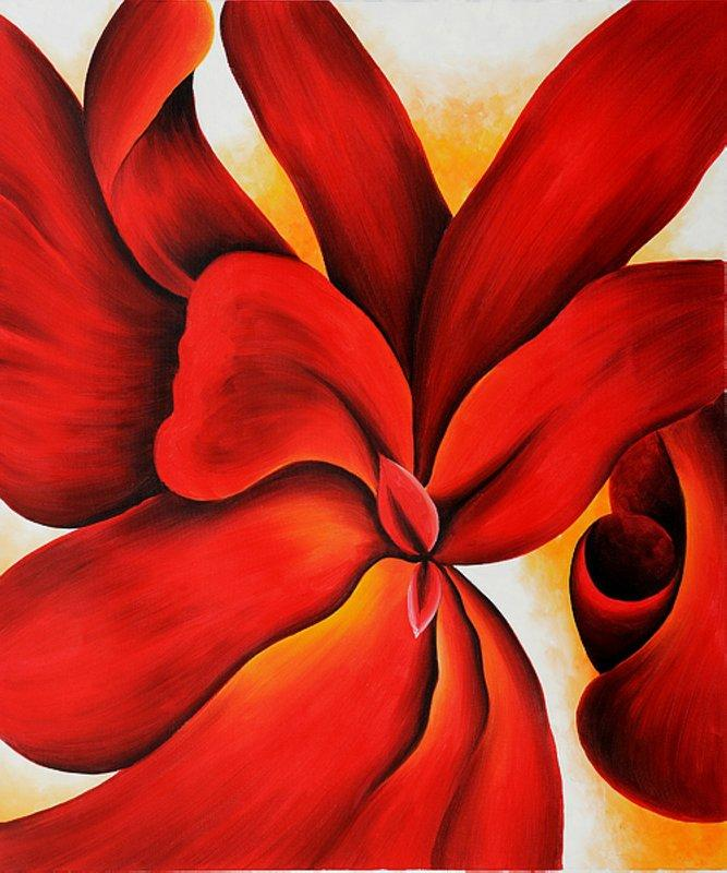 Red Cannas - Georgia O'Keeffe
