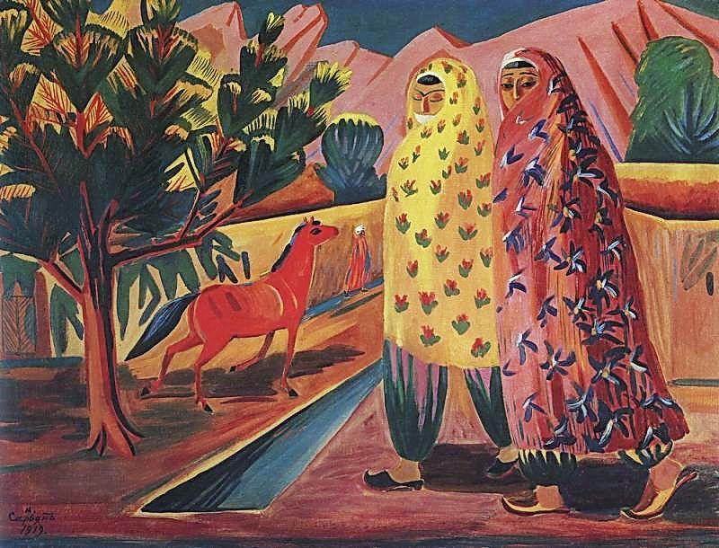 Red horse - Martiros Saryan
