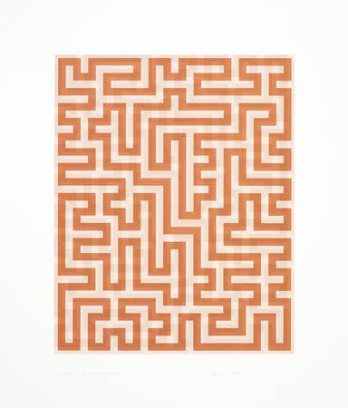 Red Meander II - Anni Albers