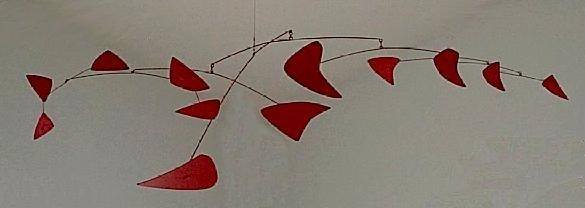 Red Mobile - Alexander Calder