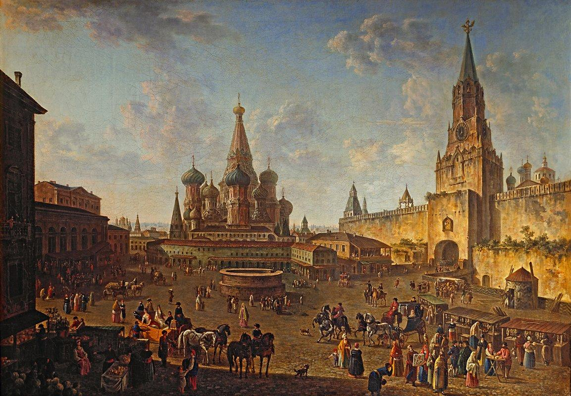 Red Square, Moscow  - Fyodor Alekseyev